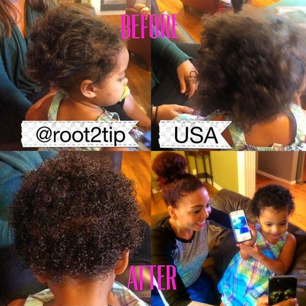 Natural Curly Creme for Frizzy curly kids