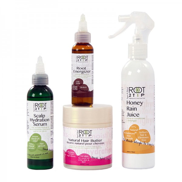 Just Grow It Hair Growth Kit from Root2Tip Haircare