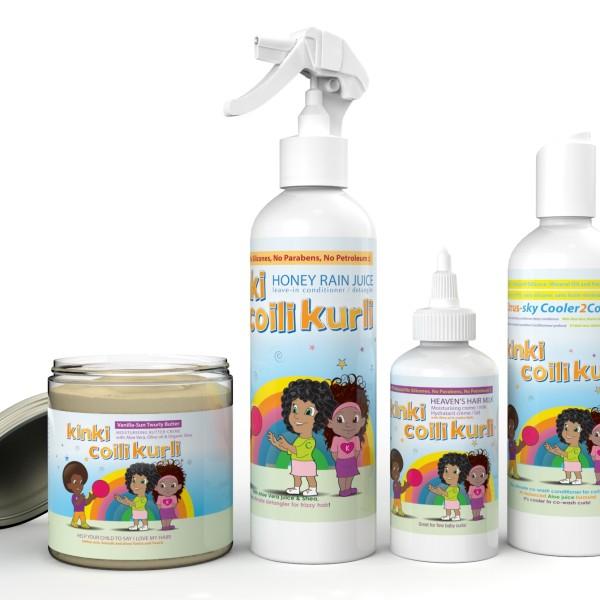 Kinki Coili Kurli Curly Kids Hair Kit Root2tip Hair Care