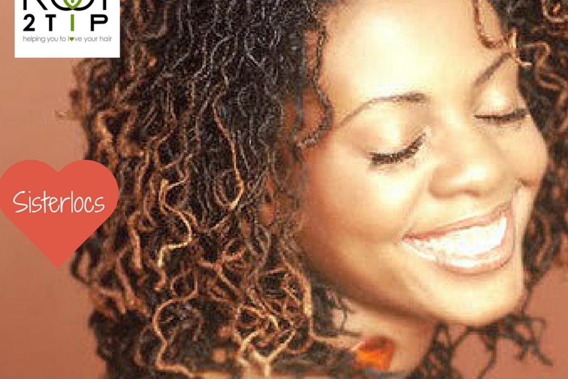 Sisterlocs and how best to care for them with ROOT2TiP Natural Haircare