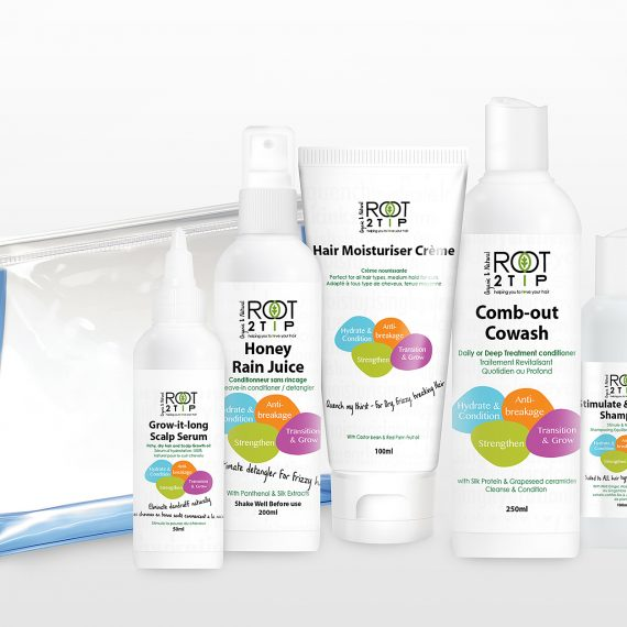 Transition & GROW Healthier Hair Kit