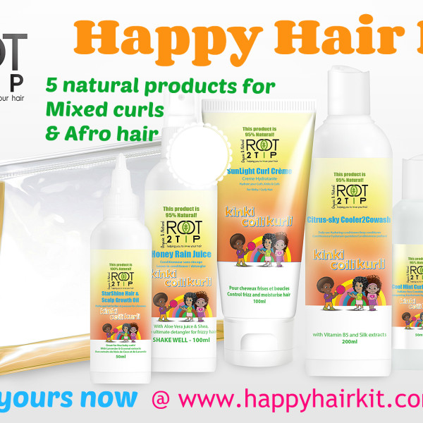 Happy hair kit