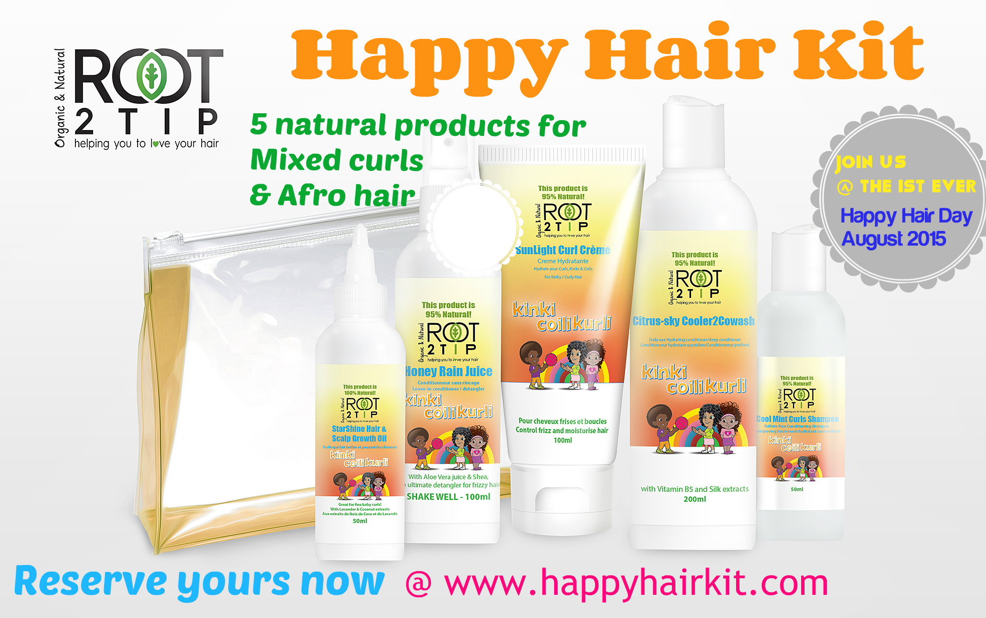 The Happy Hair Kit For Kids With Mixed Race And Afro Hair