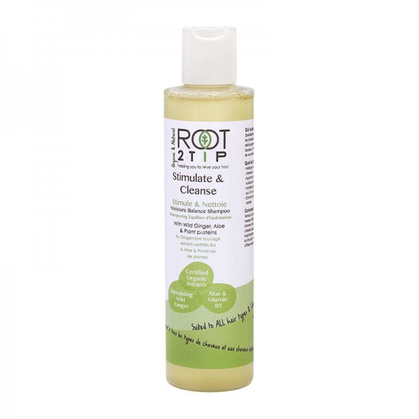Stimulate and Cleanse SLS Free Hair Shampoo from Root2Tip Haircare