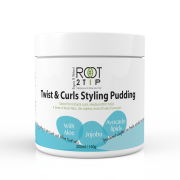 Curly hair pudding